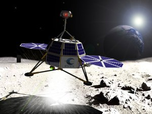 Odyssey Moon Lander