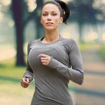 Hot Woman Jogging