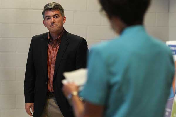 Cory Gardner questioned about his loyalty to the U.S.