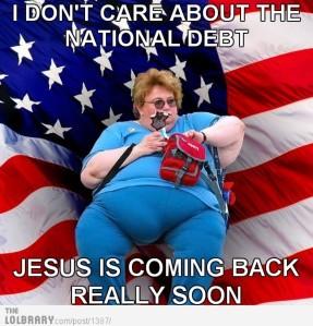 Dumb-fuck religious conservative